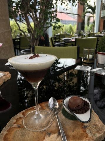 Mini espresso martini