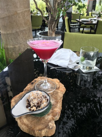 Lychee mini-martini