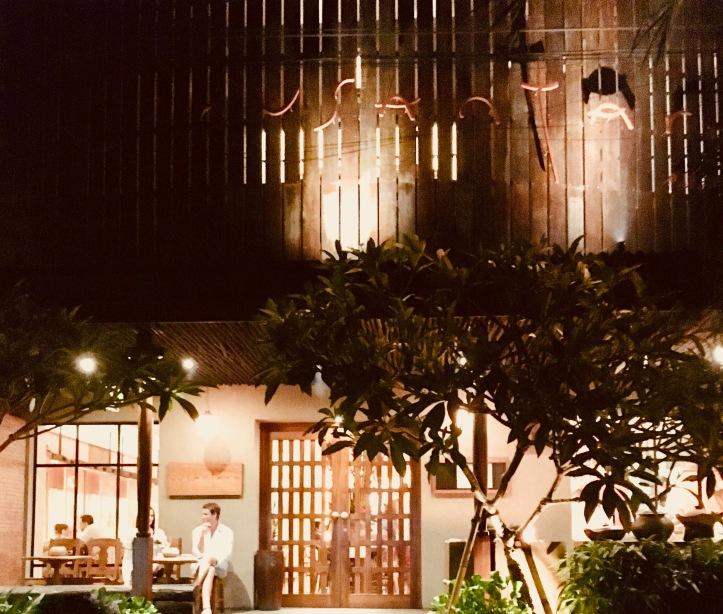Front of Nusantara restaurant