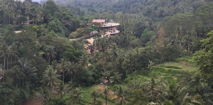 Luxury hotel Four Season resort Ubud
