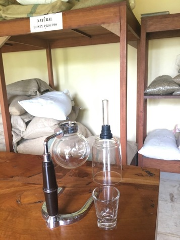 Chemistry set or coffee maker?