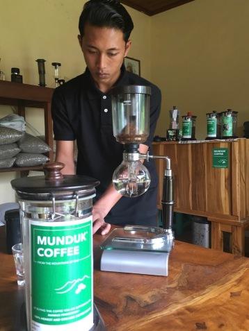 Scientific preparation of my 'honey process' coffee