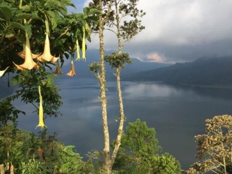 Lake Buyan from Wanagiri road