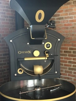 This beast of a roasting machine was imported from Holland and is the only one in Bali!