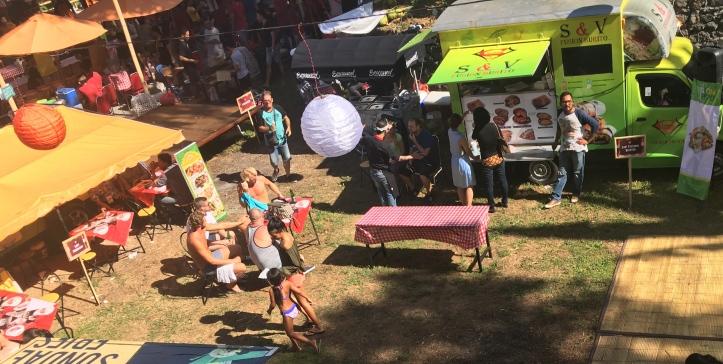 Food trucks at Ubud Food festival