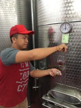 Agung - Winery boss