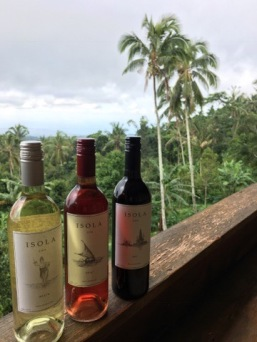 Local wine, in it's natural environment