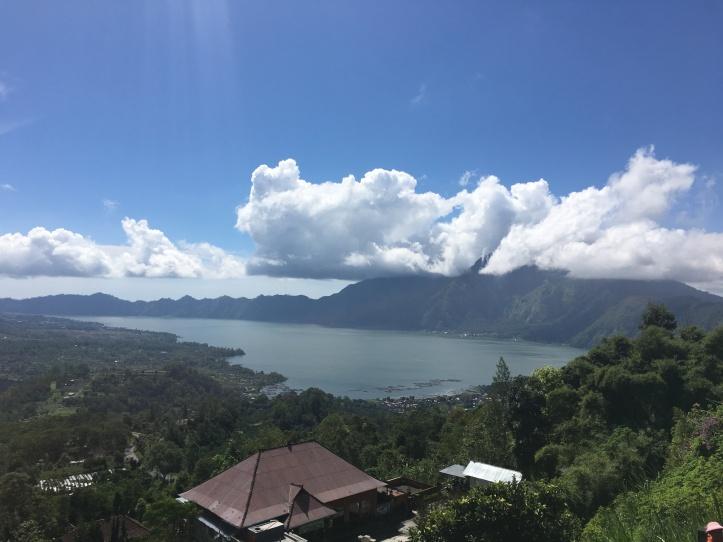 Mount Batur and Lake Batur