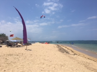 Try kite-surfing if you dare